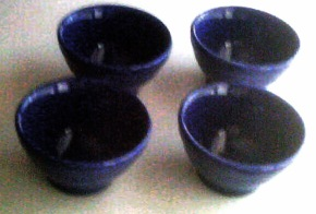 One of my sets of little bowls.